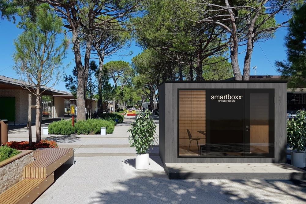 smartboxx Outdoor Variante Büro